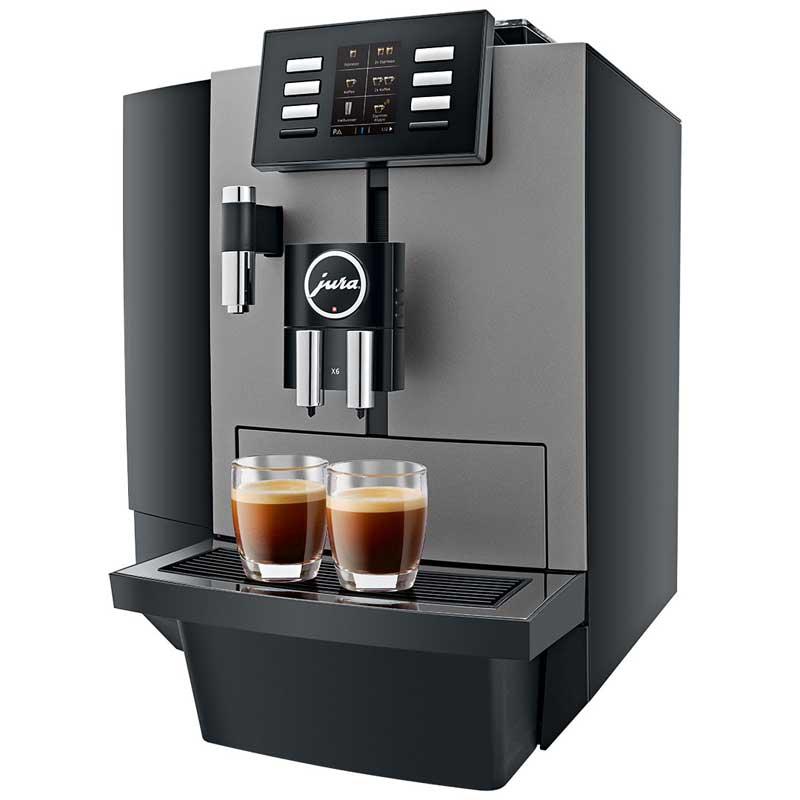 jura x6 dark inox kaffee service berlin peter ganss gmbh. Black Bedroom Furniture Sets. Home Design Ideas